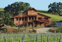 The Winery / Located in Happy Canyon in the Santa Ynez Valley, the entire Grassini winery and vineyard is solar powered and the water used for irrigation is from the estate's lake. The winery itself is embedded in a prominent hillside with the rear opening into spectacular wine caves.  All the wood in the winery is reclaimed antique fir, having been milled from timbers discovered recently in the Oregon River. Check it out here: http://www.grassinifamilyvineyards.com/the-winery.html