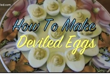 Recipe for Deviled eggs / Best recipes for Deviled eggs / by Michele Williams