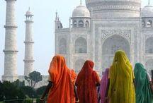 """La Bella India./ The Beautiful India. / """"A JOYA DE LA CORONA"""" La bella India; te asombra, te maravilla, te sorprende, te emociona, le saboreas, te admira su devoción, ves  hermosos ojos con miradas tranquilas y amables, todo vestido en hermosos colores y adornos de profundo significado... Te enfrenta y va contigo siempre... / by Raquel Inés López"""