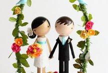 Cake Toppers / Fabulous wedding cake topper ideas