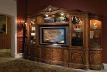 Entertainment Center  / Our fine selection of TV Entertainment Center Furniture & Accessories!