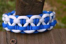 Bracelets paracorde et élastiques