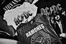 Band T-shirts/bags..etc