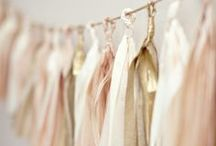 Wedding Metallics / Beautiful metallic inspirations for a gold and rose gold wedding theme.