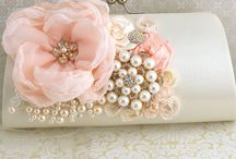 Peach and Pearl Wedding / Ideas for a peach and pearl themed wedding.