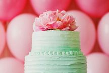 Mint and Pink Wedding / Inspiration for a mint and pink themed wedding.