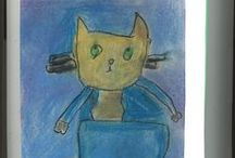 Year 1 Art Attacks / Autumn 2014: Inspired in the pre-prep art room