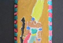 Egyptian Art / Year 1 Egyptian Art plaques