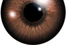 Brown eyes - make up inspirations