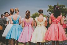 Bridesmaids Dresses / Ideas for gorgeous dresses for your bridesmaids.