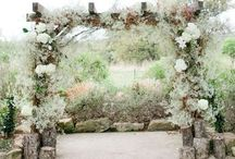 Wedding Alter and Aisle / Ideas for your wedding alter and aisle