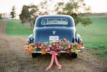 The Wedding Wheels / Ideas for a fabulous wedding car