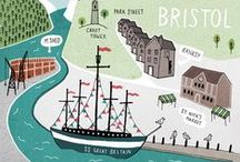 All about Bristol, Banksy, Aardman and so on
