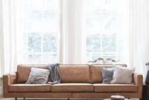 Living Room Inspiration / Products and ideas to transform the most used room in your home - from gorgeous leather sofas, stylish rugs and on-trend colour schemes.