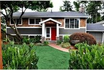 Curb Appeal / Stunning examples of homes that pop from the curb.