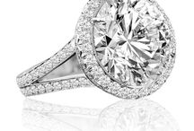 Diamond Engagement Rings / Bespoke diamond engagement rings. Designed and hand made by Troy Clancy.