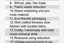 Eco-Fashion / This is a group board! Message me to be added! The world of fashion is not inherently eco-friendly or sustainable. This board is dedicated to the Alternative fashion industry, focusing on sustainable fabrics, fair-trade and sweatshop-free labor, and environmentally friendly processing practices.