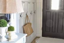 Entryways / It only takes 6 seconds for someone, especially a buyer (if you are selling your home) to make a first impression. Make sure it is a positive one and enjoy these inspirational examples.