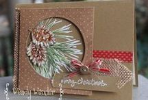 Christmas Card Crafts ~ Ideas & Tips / by Liz Watkins