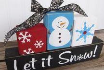 Snowman Crafts ~ Ideas & Tips / by Liz Watkins