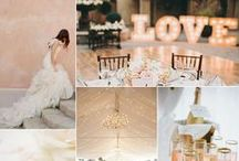 Gold & Blush / Wedding Inspiration in all things Gold & Blush!