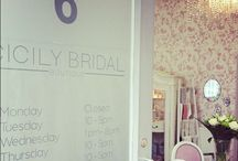 Cicily Bridal / Welcome to Cicily Bridal a stylish boutique based in the quaint town of Ashby de la Zouch, Leicestershire. Stockists of Naomi Neoh, Charlie Brear, Kate Halfpenny, Jesus Peiro, Eliza Jane Howell, Augusta Jones and Twobirds bridesmaid.
