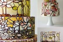 Stained Glass Cakes / Ideas for stained glass cakes.