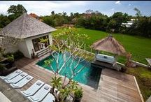 Villa Toba -  Canggu, Bali. / Jabunami's modern Balinese-style villas feature local ceramics, marble flooring and fine wood furnishings. Offering daily breakfast, they come with private pools, home entertainment systems and full kitchen facilities including a Nespresso coffee machine.  http://au.travelmob.com/holiday-homes/indonesia/bali/canggu/tm-YJZbLUSJRA4   chris@raywhiteparadise.com