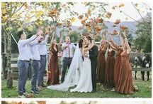 Autumn wedding / Wedding Ideas for the Autumn Bride