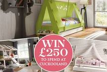 Cuckooland 'My Dream Kids Bedroom' Competition Ideas / Create your Kids Dream Bedroom and inspire a Cuckoo Nation to Win £250 to spend at Cuckooland!   To enter, create a Board entitled 'My Cuckooland Dream Kids Bedroom' and pin your favourite children's interior ideas. Fill your board with at least 10 pins, 5 items must be pinned from cuckooland.com. Remember to tag #dreamkidsbedroom and @cuckoolandcom on each pin.   Competition closes 31.10.14.  For T&C's visit www.cuckooland.com/blog