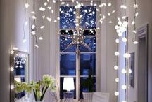 Winter Wonderland Interiors / As the nights draw in and Jack Frost descends, take inspiration from this board to make your home a cosy winter wonderland. WARNING may make leaving the house very difficult!
