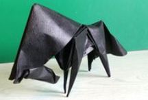 ORIGAMI CHEMA / figuras de origami plegadas por mi
