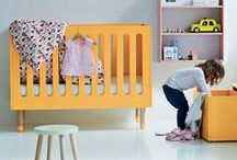 Bright and Colourful Nursery Ideas / Who says nurseries have to be white? Create a bright and colourful space for your newborn with these vibrant ideas!
