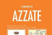 AZZATE / La cartina, lo stradario e le info utili del Comune di Azzate (VA)
