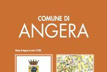ANGERA / la cartina con lo stradario e le info utili sul comune di Angera