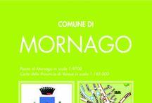 MORNAGO / La mappa dettagliata con le informazioni utili e lo stradario
