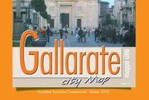 GALLARATE / La mappa dettagliata con le informazioni utili e lo stradario