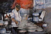 watercolor paintings for sale / Best watercolors online art gallery and watercolor paintings for sale.