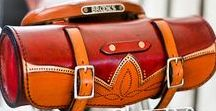 Leather Bags & Boxes for Bicycles & Motorbikes