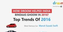 Automobile Trends for 2016 on Droom / We pulled out these major trends from the user generated data on our app in the year 2016.