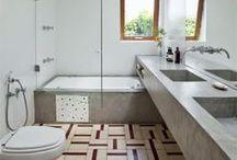 Inspiração de Banheiro - Bathroom Inspiration / Inspiração de Banheiro Bathroom Inspiration