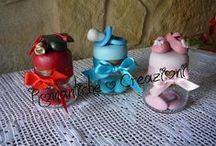 bomboniere e confettate / ricordare un dolce evento con pezzi unici di puro artigianato interamente realizzati a mano!!