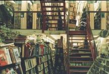 Bookshops & Libraries. / Where true magic hides.