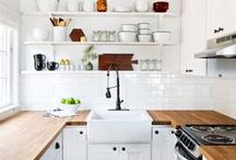 Crumb-free Kitchens / A collection of kitchens that look too good to cook in.