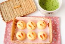 """Japanese Desserts/Light Meals / Board name is self-explanatory, though I feel like all I'm pinning here is matcha-related... Will improve. Much of this board is easily portable desserts, so check my """"baking/desserts"""" board for fancier Japanese desserts and my """"Asian pot luck recipes"""" for fancier meals."""