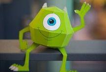 Printable Paper toys / Objets et figurines en 3D à imprimer
