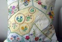 Crasy quilt and patchwork / Bir gün bunlardan yapacağımmmm! / by Zeynep Baydar