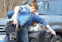 Police officer / Someday this might be my job:) / by Alissa Wittman