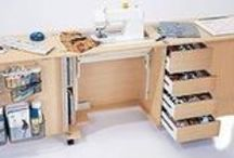 Quilting studio / mobilier