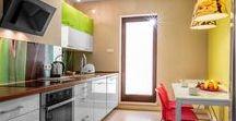 Kolorowe mieszkanie / Kolor ożywia wnętrze. Ciekawe
